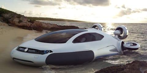 Volkswagen Aqua Concept hovercraft by Zhang Yuhan