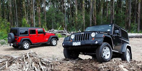 2011 Jeep Wrangler on sale in Australia