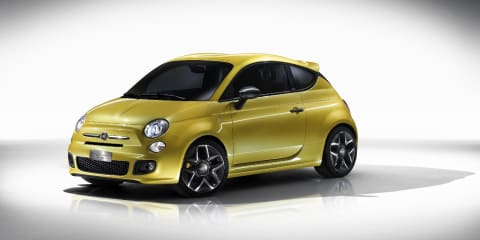 2011 Fiat 500 Coupe Zagato at Geneva