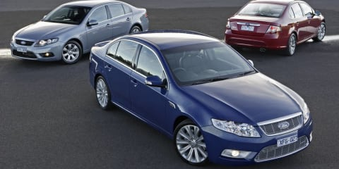 Ford Falcon's Australian-made future in doubt says CEO