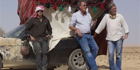 James May injured in Syria during Top Gear filming