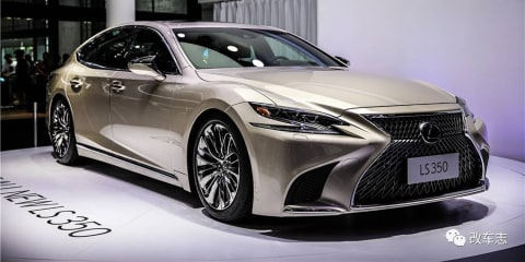 2018 Lexus LS350 debuts in China, not for Australia - UPDATE