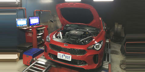2018 Kia Stinger Si V6 on the dyno: Surprised with the numbers?