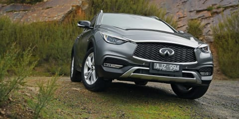 2017 Infiniti QX30 pricing and specs: Q30 high-rider gets a rugged companion