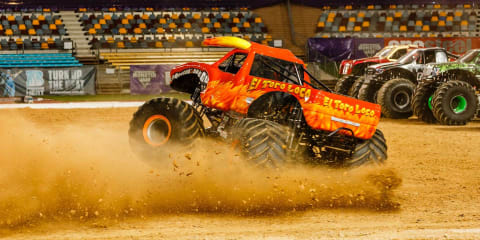 Monster Jam tours Australia:: Two family passes to give away!