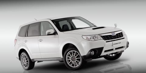 Subaru Forester S-Edition Concept at 2010 AIMS