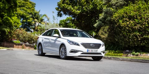 "Hyundai Australia ""pretty happy"" with sales in slow-moving mid-sizer segment"