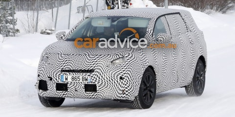 2017 Peugeot 5008 people-moving SUV spied testing