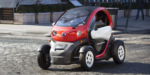 Nissan launches 'micromobility' program at New York motor show