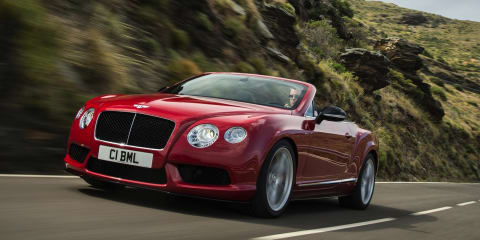 Bentley Continental GT V8 S: faster, sharper two-door revealed