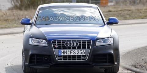 2010 Audi RS5 Coupe spied