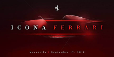 Ferrari teases new supercar ahead of September launch