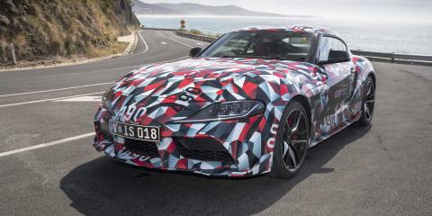 2019 Toyota Supra tested in Australia