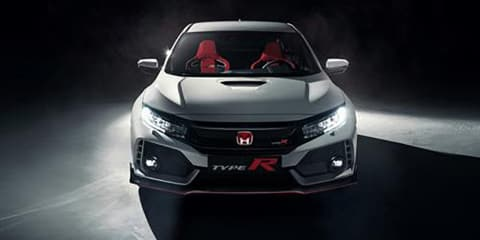 2018 Honda Civic Type R surfaces online