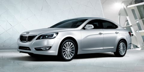 Kia Cadenza first images