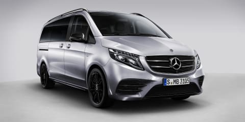 Mercedes-Benz V-Class Night Edition revealed
