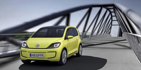 Volkswagen E-Up! zero emissions vehicle announced at Frankfurt