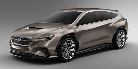 Subaru Viziv Tourer Concept revealed