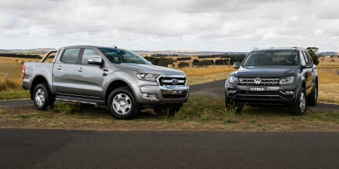 2017 Ford Ranger XLT v Volkswagen Amarok V6 Highline comparison