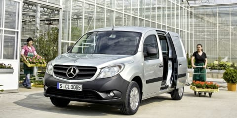 Mercedes-Benz Citan: city delivery van revealed