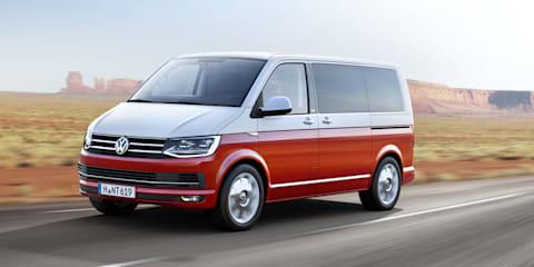 Volkswagen T6 Transporter unveiled