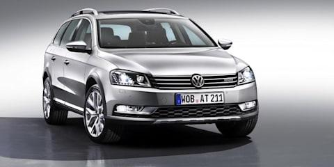 2012 Volkswagen Passat Alltrack: VW's off-road wagon