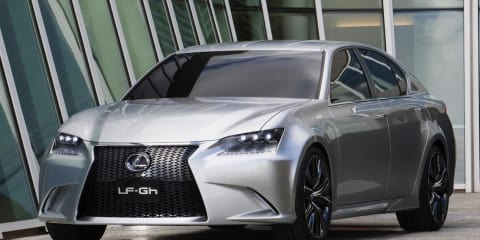 Lexus LF-Gh concept revealed ahead of New York