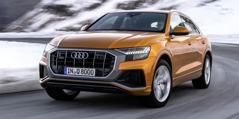 Audi Q8 45 TDI launches in Europe
