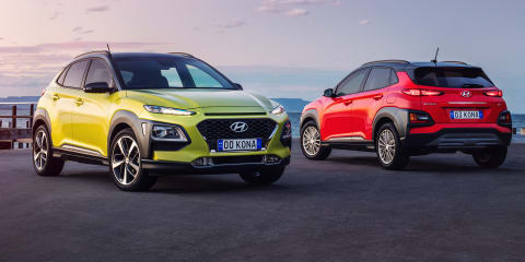 2018 Hyundai Kona pricing and specs