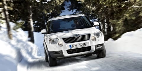 Skoda Yeti coming to Australia in July