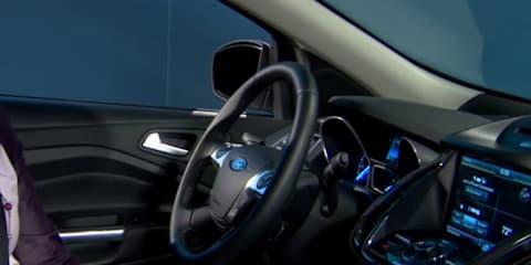 2013 Ford Escape interior teased: video