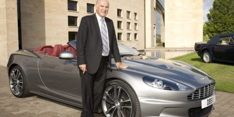 Secretary of State drives Aston Martin DBS