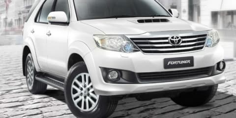 2012 Toyota Fortuner unveiled for Asian market