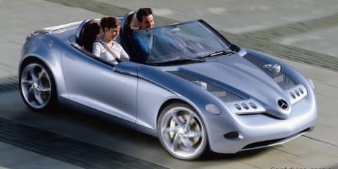 Mercedes-Benz SLA front-drive sports convertible on the way