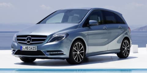 2012 Mercedes-Benz B-Class revealed, coming to Australia Q2