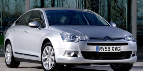Citroen C5 updated, new engines for 2010