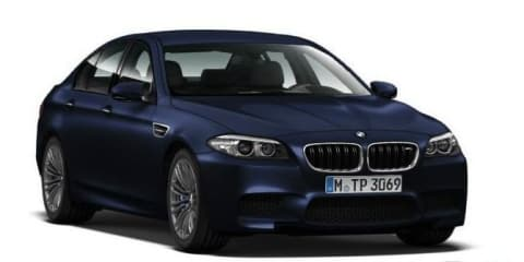 BMW M5: images of facelifted super sedan leaked