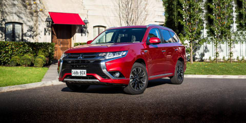 2017 Mitsubishi Outlander Exceed PHEV review