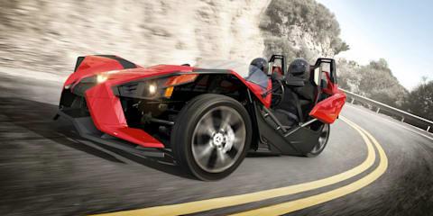 2015 Polaris Slingshot: extreme two-seat trike eyeing Australia