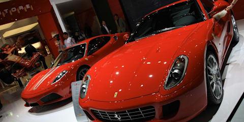 Ferrari stand 2008 Geneva Motor Show