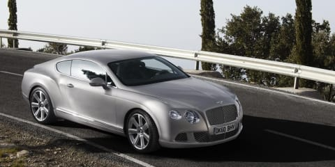 2010 Bentley Continental GT facelift