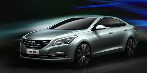 Hyundai Mistra concept previews China-only medium sedan