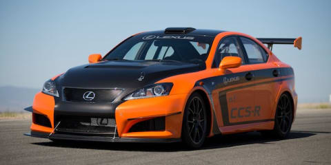 Lexus IS-F CCS-R to peak at famous hill climb