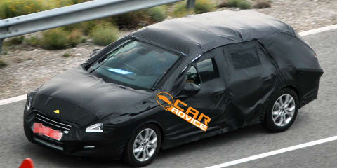 2011 Peugeot 508 Station Wagon spy photos