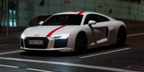 Audi R8 RWS: Sydney's best-sounding tunnels