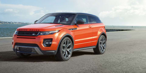 Range Rover Evoque three-door axed in the UK