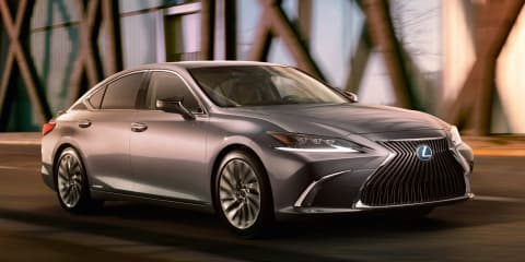 2019 Lexus ES revealed