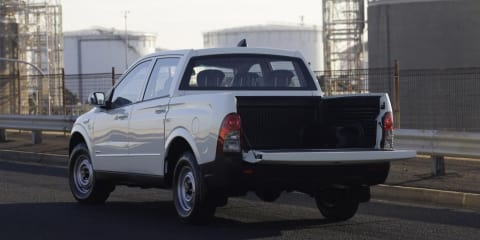 2008 SsangYong ute for tradies