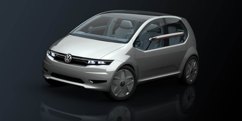 Volkswagen Italdesign Giugiaro Go! concept preview