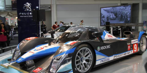 Peugeot 908 and stand at 2010 AIMS